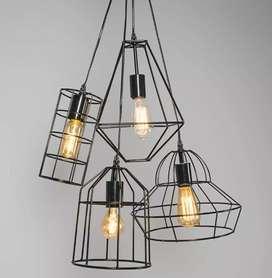 Kap lighting lampu hias lampu cafe lampu vintage lampu gantung