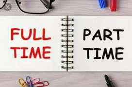 Work Part Time - Full Time