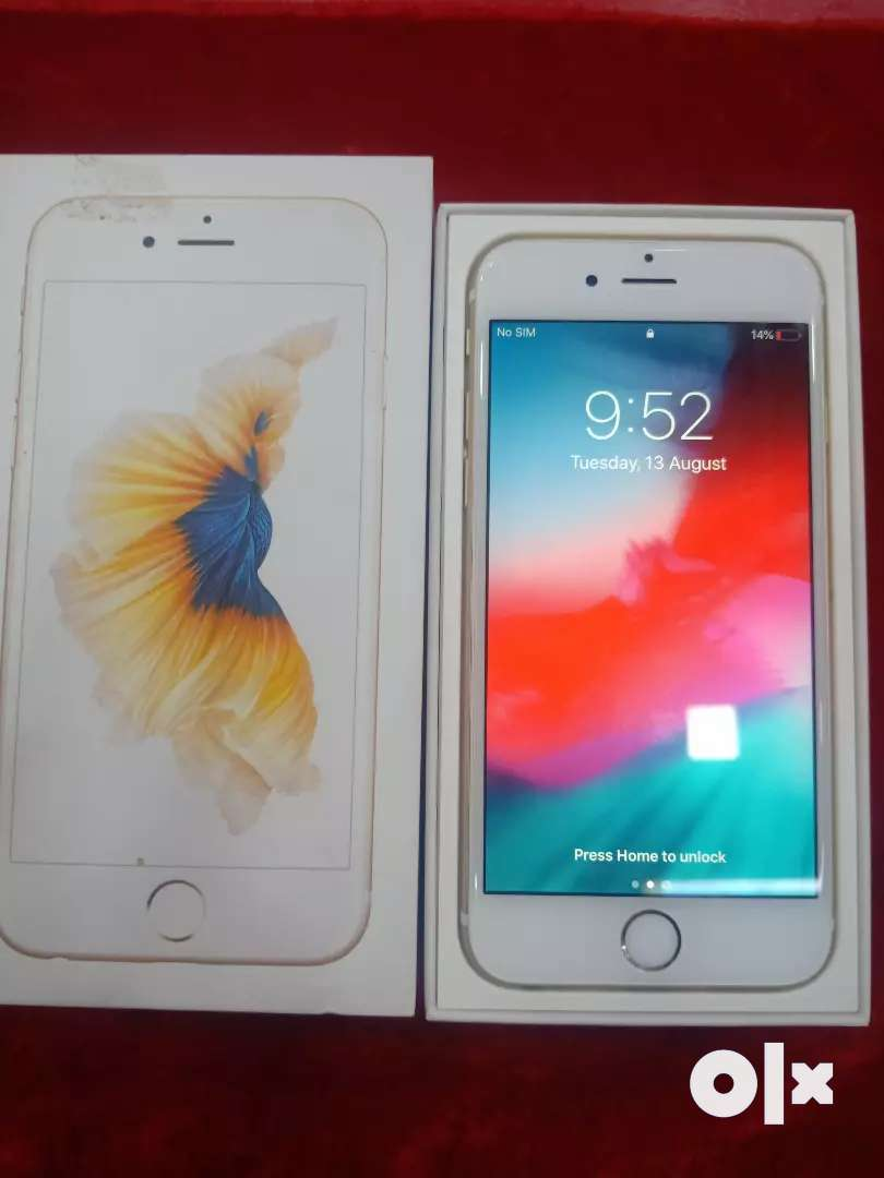 Iphone 6s, 16gb Internal, Scratchless Condition 0