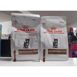 Royal canin gastro intestinal kiiten makanan anak kucing mencret 400gr