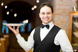 Waiter / Food Delivery Boy Jobs