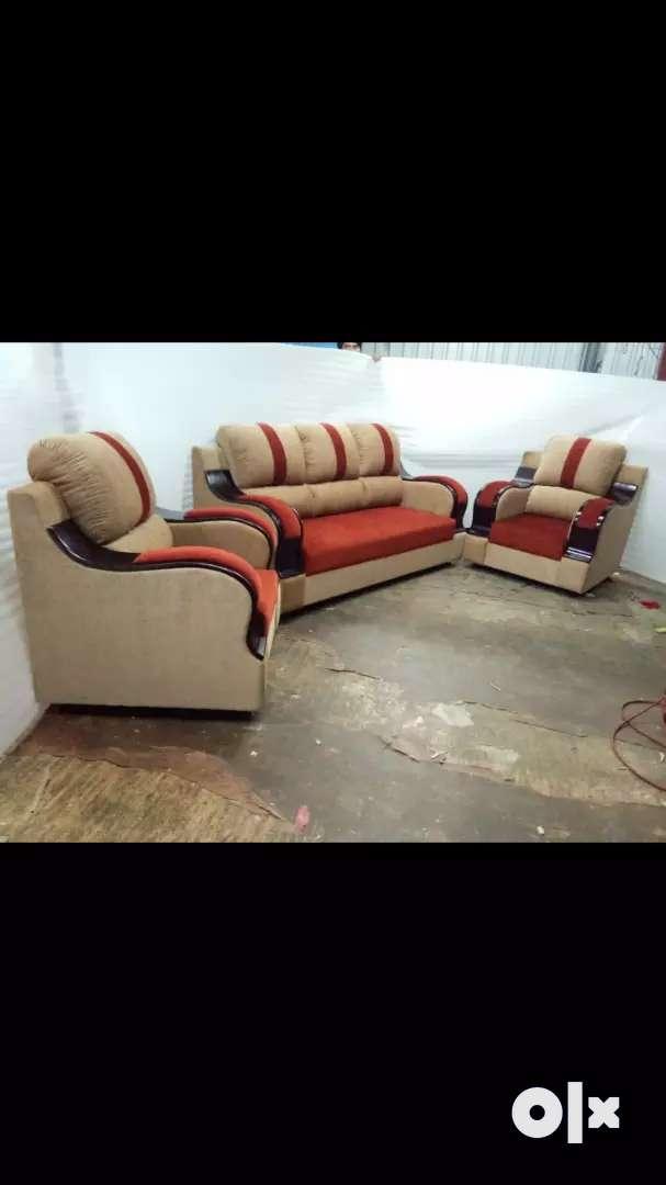 new recron cushion sofa set 0