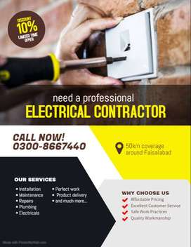 Need electrician for shop