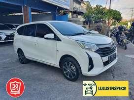 [Lulus Inspeksi] Toyota Calya 1,2 G Matik 2019 putih aslibali