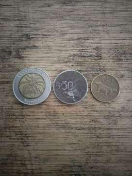 Jual uang antik
