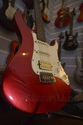 gitar yamaha pasifica red cherry