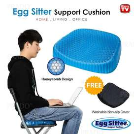 Blue Silicon Egg Sitter