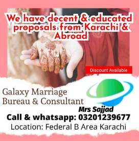 Marriage Bureau Services and consultant