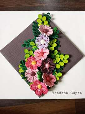 Quilling art/ flowers.