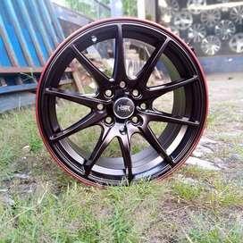 Velg HSR Baru tipe Point ring 15 warna black red