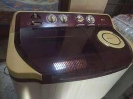 Lg semi automatic washing machine  7.8 kg
