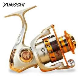 EF6000 Metal Fishing Spinning Reel 12 Ball Bearing - Yumoshi