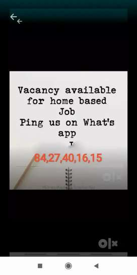 Data collection part time job offers for wife, students, handicapped