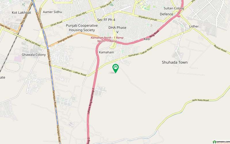 Residential Plot In State Life Housing Society Sized 14 Marla Is Avail