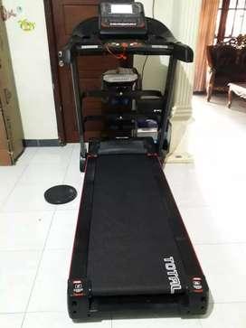 Big Treadmill TL123M Elektrik 3.0 Hp Total Fitnes, Treadmil 5 Fungsi