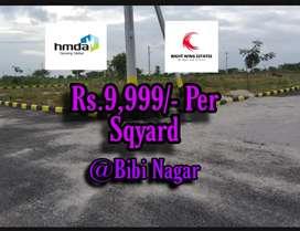Residential plots for sale at BB nagar near AIIMS