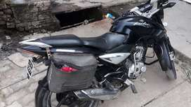 Bajaj Pulsar black colour ki good condition
