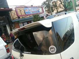 Fortuner type 1 and 2 trd spoiler