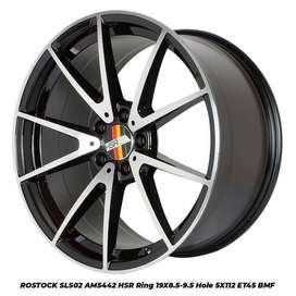 Bisa cicilan Velg Type HSR Ring 19 lebar 8,5-9,5 Mercy Xpander Rush