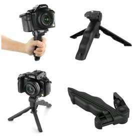Tripod Mini Foldable 2 in 1 untuk DSLR GoPro Action Camera Xiaomi TOB