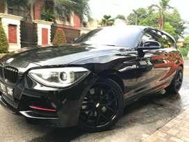 BMW M135i Coupe 2013 W.hitam int merah full option kond antik terawat