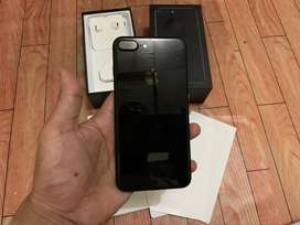 """Iphone 7 plus 32gb jetblack fullset """"like new"""""""