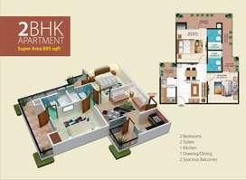 2bhk flat Windsor Paradise in Raj nagar extension , Ghaziabad