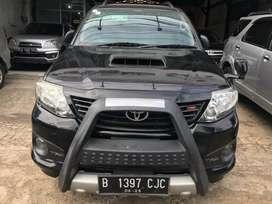 Toyota Fortuner VNT TRD Matic Diesel Tahun 2015 Barang istimewa Mulus