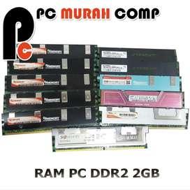 RAM MEMORY PC DDR2 2GB PLUS HEATSINK MEREK RANDOM