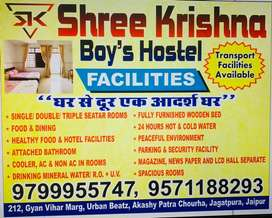 Full furnished hostel nearby akshaypatr choraha urban beatz