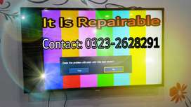 Repairing Expertise - Repair LED & LCD TV By Us With WARRANTY
