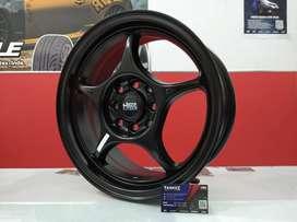 Kredit Velg Mobil Mirage, Nissan March dll Ring 15 HSR SENSI