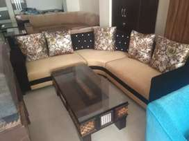 New sofa light and dark colour