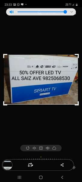 "LED TV 50% OFFAR  32"" 40"" 50"" A 50 %"
