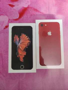 Iphone 7 128gb sealed pack red colour