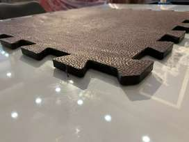 Gym Flooring Tiles are Available in 12mm thiknes