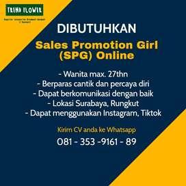 Dibutuhkan SPG online shop