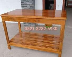 meja custom untuk aquarium, tv, kompor dll, bisa request ukuran