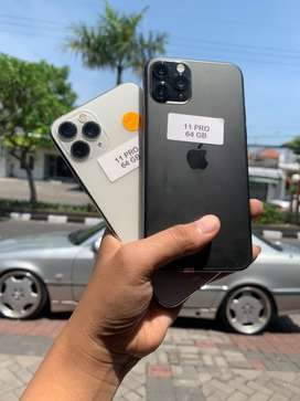 Promo Gila iPhone 11 Pro 64 Fullset 100% Original Bergaransi