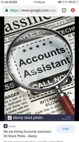 We need tally female accountant with tally knowledge
