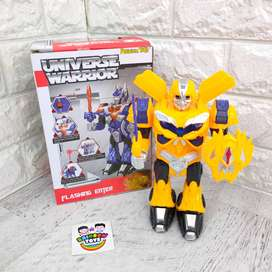 Robot Warrior Mainan Anak Cowok