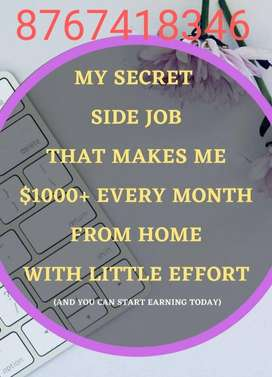 12hr only. Start money making opporrtunity now in part time..