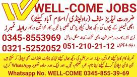 [JOBS in Islamabad/Female Only]