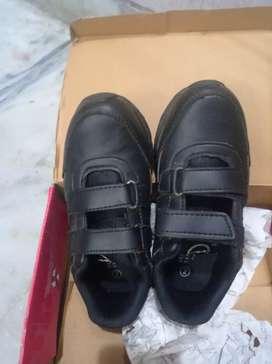 Black Campus welcro shoes size 2