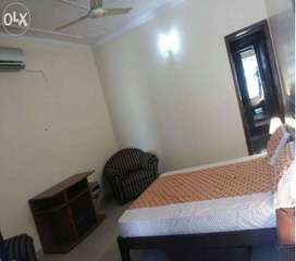 SECTOR-29 ONE ROOM SET FURNISHED QUALITY WOOD WORK..