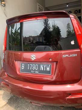Dijual Cepat Mobil Suzuki Splash GL Manual Tahun 2012
