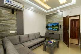 2 BHK appartment, fully furnished with elegent interiors.