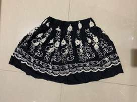 rok mini model batik