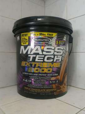 MuscleTech Mass Tech 22 Lbs / 22lb 22lbs lb gainer masstech susu whey