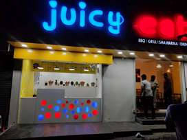 Juice shop setting and training only call